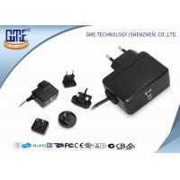 Cheap Interchangeable Type Desktop 12v Power Adapter UL FCC GS CE RCM Approved for sale