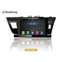 Quality Android Car Video Player For Toyota Corolla 2014 , Toyota Dvd Navigation System wholesale
