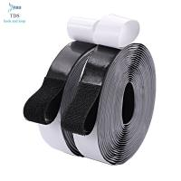 China Logo Printed Self Adhesive Hook And Loop Tape , Strong Sticky Nylon Hook And Loop Fasteners on sale