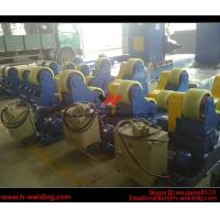 Cheap Automatic Vessel Welding Pipe Welding Rotator With PU Rubber Roller 15000kg for sale