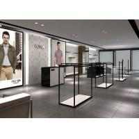Quality Modern Fashion Style Retail Display Fixtures Men Clothing Display Systems wholesale