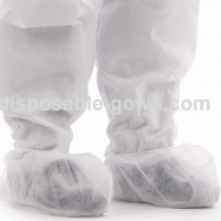 China Single Use Non-Woven Shoe Covers With Elastic At Opening For Keep Clean In Clean Room on sale