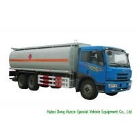 Quality FAW 6x4 Diesel Oil Tanker Truck For Transportation With PTO Fuel  Pump 19CBM wholesale