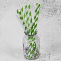 Quality 220mm 250mm longth orange blue  color Wholesale Biodegradable Paper Drinking Straws for Party wholesale