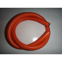 Quality High Intensity Orange PVC Pipe / LP Gas Hose For Nigeria , 50m/Roll With Shrink Wrap wholesale