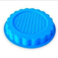 Cheap new design round shape silicone pizza  mold ,customized silicone pizza cake mold for sale