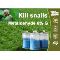 Quality 108-62-3 Metaldehyde 6% G Pesticides For Agriculture Control Of Slugs And Snails wholesale