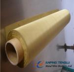 Quality 250mesh, 300mesh, 325mesh, 400mesh, 500mesh Twill Weave Brass Wire Mesh wholesale