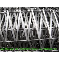 Cheap Stainless Steel 304 316 Flat Wire Conveyor Belt, Firm Structure and High for sale