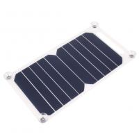 Quality Sunpower Flexible Solar Mobile Phone Charger 5W 6V PET Laminated Panel Material wholesale