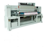 Quality 2200rpm Sewing Quilting Embroidery Machine Head Moved With 2 Rows Shuttle wholesale