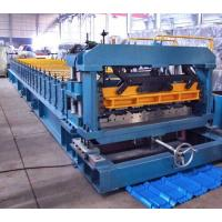 Quality 7.5 Kw Gimbal Gearbox Drive Roof Rolling Forming Machine PLC Frequency Control System wholesale