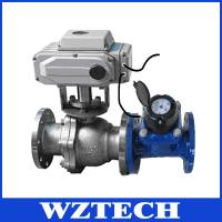 Quality Big Port Size DN32-DN250 Hard Sealing Electric 2 Way Ball Valve wholesale