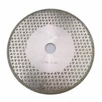 Quality 7 Inch Electroplated Diamond Cutting & Grinding Blade Both Side Coated For Granite Marble wholesale