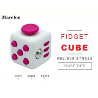 Quality Funny Customized Promotional Gifts / Anti Stress Fidget Cube 11 Colors wholesale