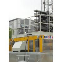 VFD Motor Rack And Pinion Elevator , Construction Site Lift Max Lifting Height 0–46 M/Min