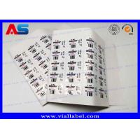 Quality 2ml Sterile Injection Steroid Bottle Labels Waterproof Strong Adhesive Vial Label Printer wholesale