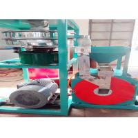 Buy cheap High Speed Cowhide PVC Recycling Machine Dust Free Wind Pressure 3700rpm from wholesalers