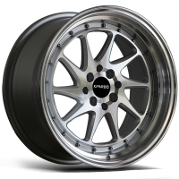 China 17 Inch 18 Inch 5x112 Aluminum Alloy Black Alloy Wheels on sale