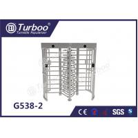 Quality Full - Height Stainless Steel Turnstiles Pedestrian Access Control System wholesale