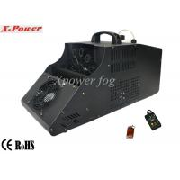 Quality 110 - 130v Single Wheel Stage Fog Machine , 8m Output Distance wholesale