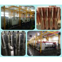 Quality Fully Automatic Plating Line for Gravure Cylinder Making Equipment Automated Line Galvanic Electroplating Tanks wholesale