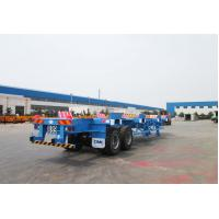 Quality Commercial Small Flatbed Trailer 35 Tons Port Yard Chassis For Container Transporting wholesale