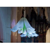 Buy cheap 2m White Wedding Decorative Hanging Inflatable Flower for Concert and Stage Decoration product