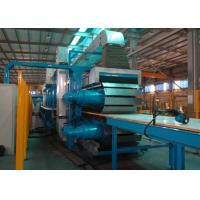 Quality PLC Control Rock Wool Production Line / PU Formed Sectional Sandwich Panel Line wholesale
