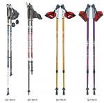 Quality Outdoor 65-135cm Nordic Walking Stick 7075 Trekking Poles  Telescopic Climbing Equipment Aluminum  Hiking Trekking Poles wholesale