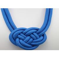 Quality fashion national Style Punk handwork weaving Chinese knot rope charm necklace wholesale