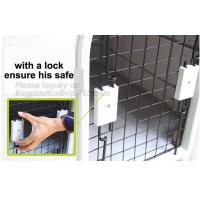 China House with lock ensure safe, Non-toxic, odorless, whether proof kennel, solid build, classic dog house, comfort of clean on sale