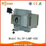 Quality Alternative Projector Lamp Module SP-LAMP-026 for INFOCUS projector wholesale