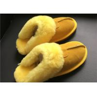 Quality LADIES SHEEPSKIN LUXURY MULE SLIPPERS lamsbwool-lined slipper mule with sheepskin wholesale