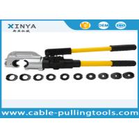 Quality Hand Operated Hydraulic Crimping Tools for Crimping Copper / Aluminum Cable Lug wholesale