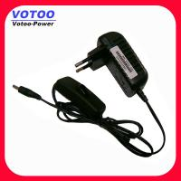 Quality Light Weight Power Switching Power Adapter 220v Ac To 12v 1000ma 9Watt wholesale
