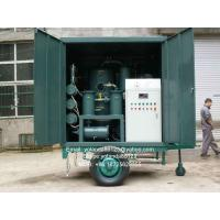 Quality Series ZYD-M Mobile Vacuum Transformer Oil Filter Plant   Insulation Oil Purifier   Dielec wholesale