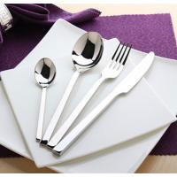 Quality High quality stainless steel hotel cutlery /flatware set wholesale