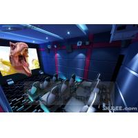 Quality Blue Color 5D Cinema Equipment, Indoor / Outdoor Playground Equipment wholesale