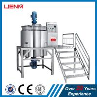 China Best Quality Stainless Steel Shampoo Mixing Tank Processing Tank Processing Line on sale