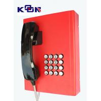 Quality Railway Red Emergency Phone Auto Dial Wearable Vandal Resistant wholesale