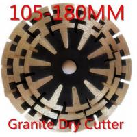 Quality 105-180mm Diamond Stone Saw Blades Marble Cutting Blade Without Chipping wholesale