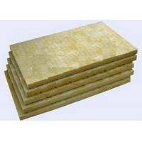 Quality High Strengh Rigid Rockwool Insulation Boards Acoustic Insulation Materials Indoor / Outdoor wholesale