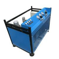 China Stationary Air Compressor For Breathing Air Automatic Control Fully Closed Structure on sale