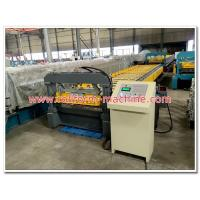 Quality Metra Aluminum Roofing Sheet Corrugation Machine with 5 Tons Decoiler, Automatic Cutting Equipment wholesale