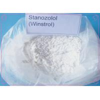 Quality Buy High Quality Wholesale Anabolic Cutting Steroid Stanozolol Winstrol CAS 10418-03-8 wholesale