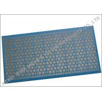 Quality Blue Adhesive Shale Shaker Screen , 1181 X 712mm Size Sand Dewatering Screen wholesale