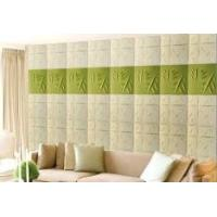 Cheap Fashion Modern Textured 3D Wall Decor Panels / 3 Dimensional Wallpaper Heat-proof for sale