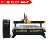Cheap Decoration Furniture Cnc Router  ELE3076 Auto Tool Chang Wood Cnc Router for sale