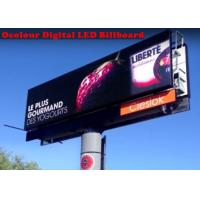 Quality IP65 Thin Advertising Digital Led Billboard Full Color 20mm Pixel pitch wholesale